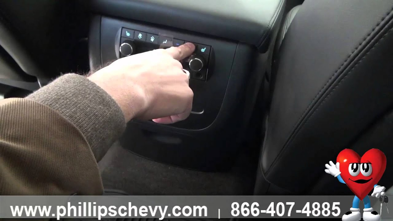 Phillips Chevrolet - 2014 Chevy Tahoe Rear Climate Control - New Car  Dealership