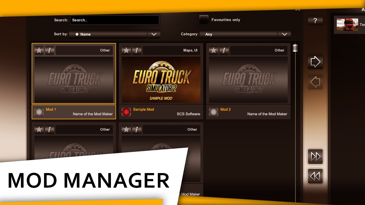 How to install mods for euro truck simulator 2.