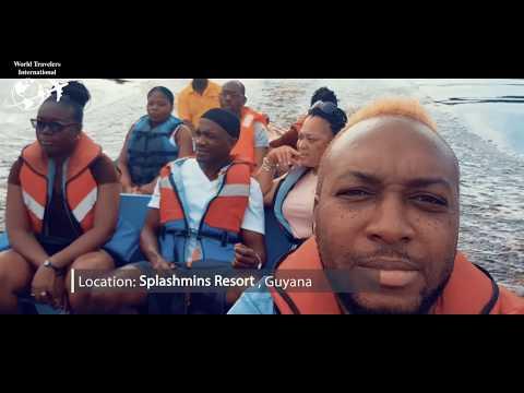 One Minute Getaway To Splashmins Resort Guyana