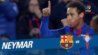 Golazo de Neymar (2-0) FC Barcelona vs Celta de Vigo