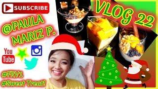 Christmas Creamy Dessert - #FRV1 -  VLOG 22
