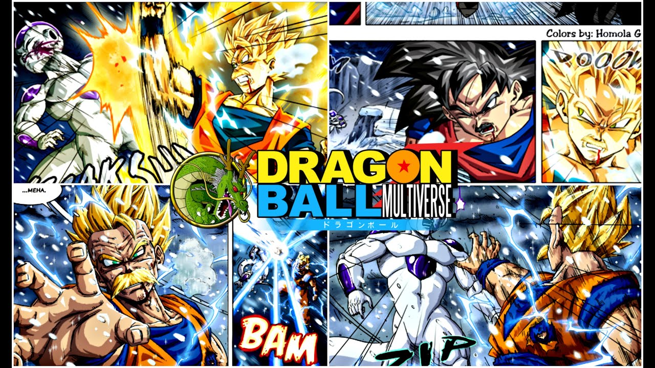 time travel Dragon Ball Multiverse