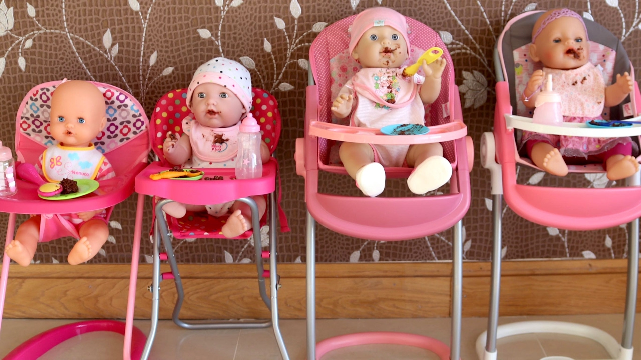 Baby Annabell Highchair Baby Dolls Messy Dinner - Laundry ...