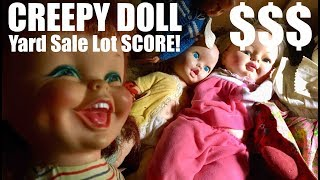 $0.20 CREEPY Yard Sale Dolls are worth BIG MONEY! (Liz Taylor