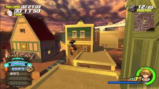 Kingdom Hearts 2.5 HD - Twilight Town Minigames (Jiminy