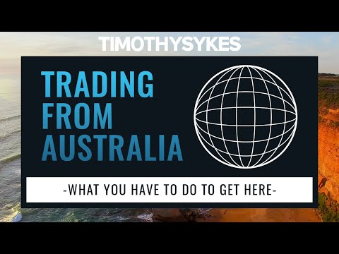 Trading From Australia – What You Have To Do To Get Here