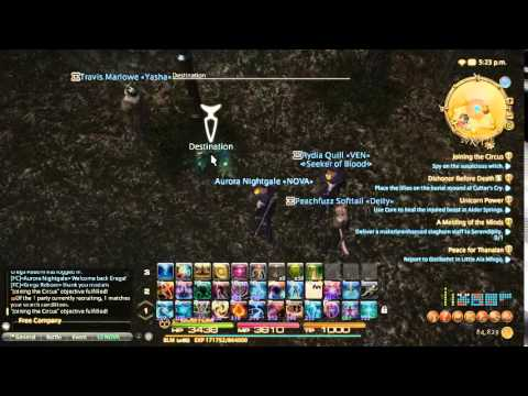 CeltyF Live Stream - Final Fantasy XIV All Saints Wake