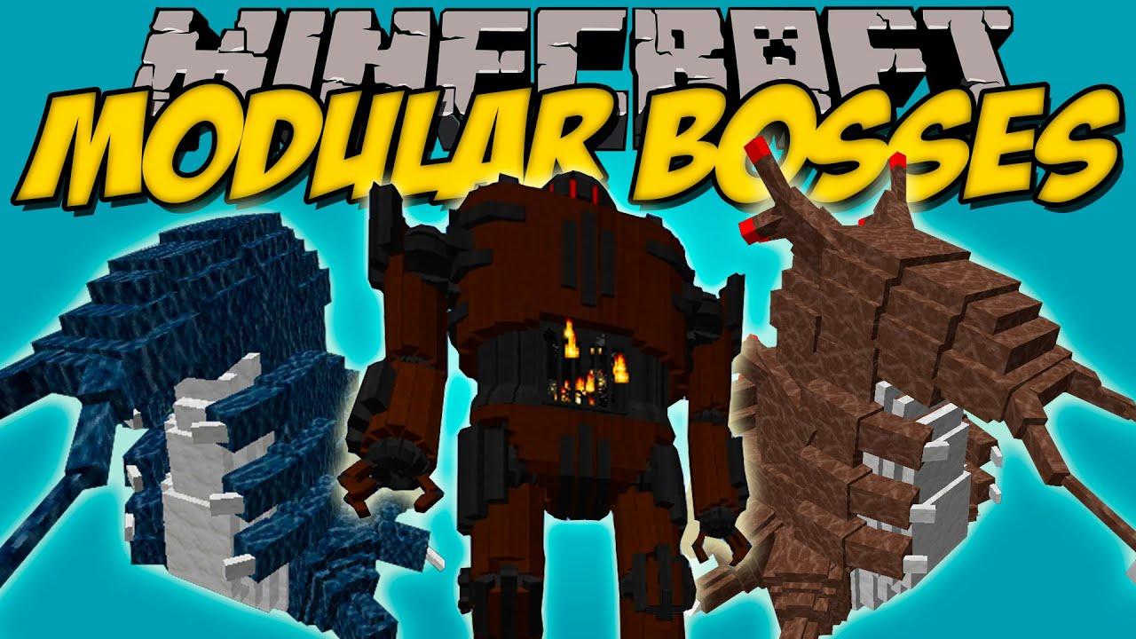 Modular Bosses Mod Bosses 233 Picos Con Animaciones