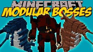 MODULAR BOSSES MOD – Bosses épicos con animaciones!! – Minecraft mod 1.8 Review ESPAÑOL
