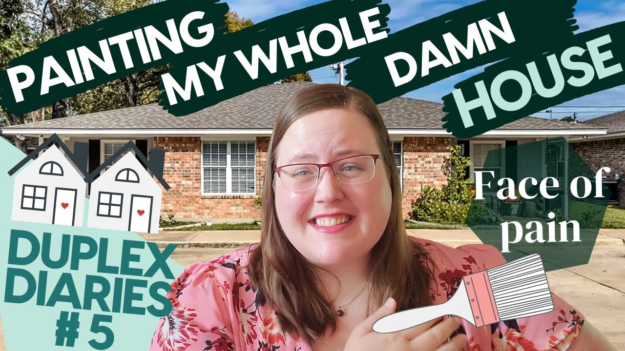 Painting my ENTIRE HOUSE! - Duplex Diaries | Ep.5