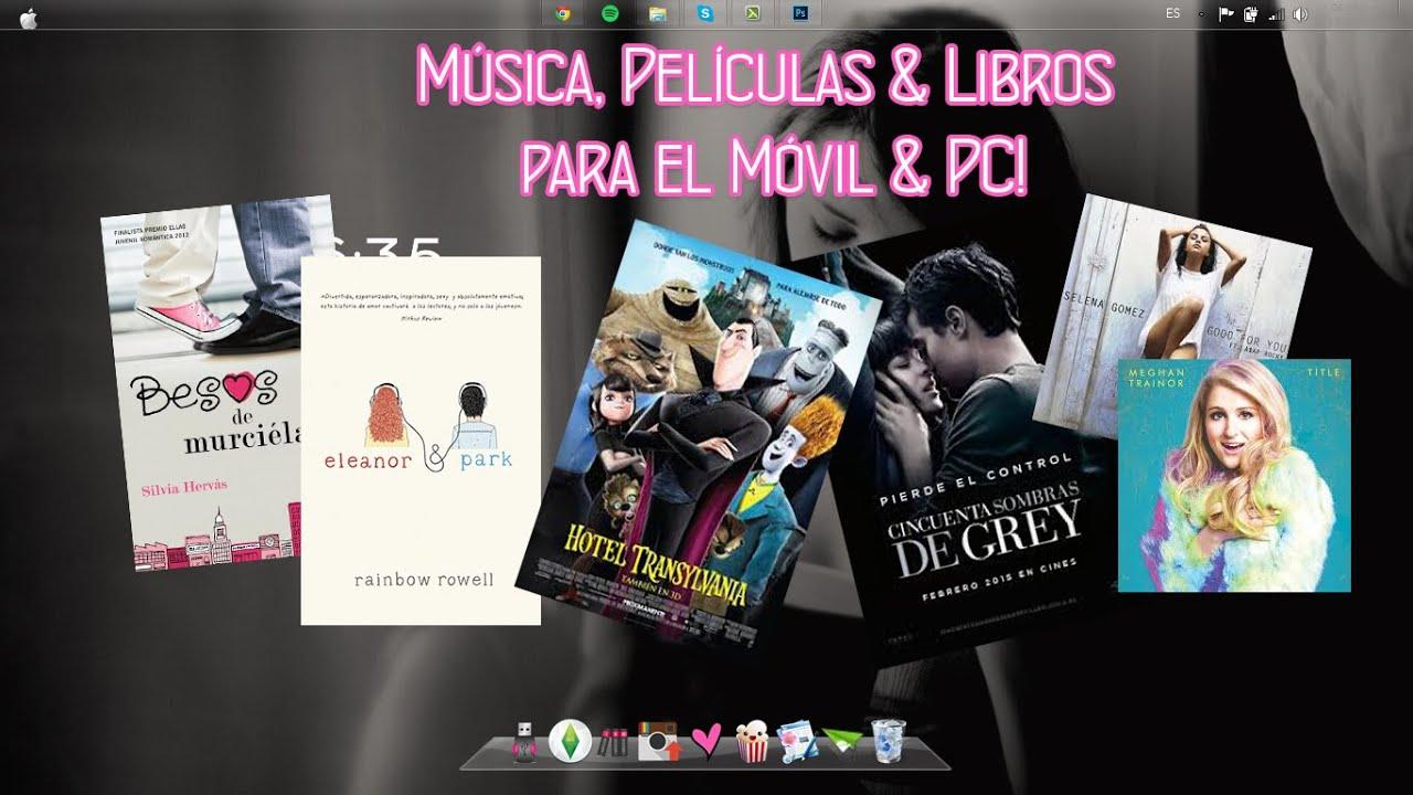 Descarga Música, Libros Y Películas ¡Gratis!