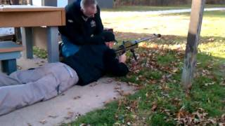 Dave with the Boys 50cal Rifle