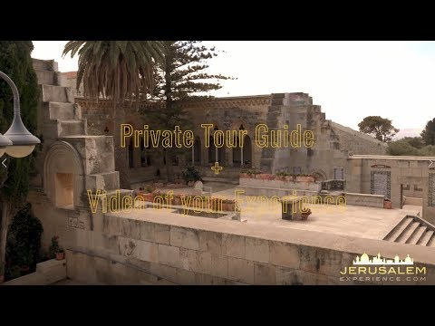 Private Tour Guide - Church of Pater Noster Jerusalem  Mount of Olives