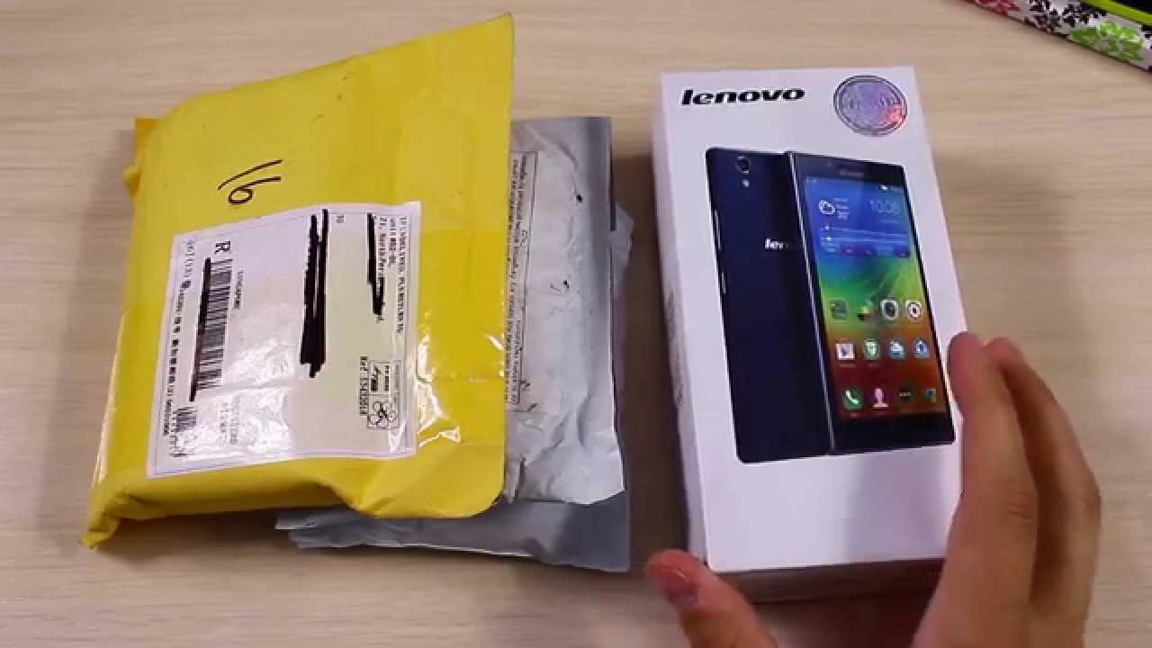 Lenovo P70 и Посылки Из Китая