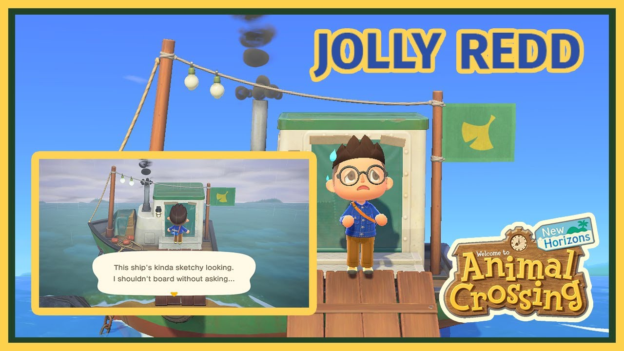 How To Get In Redds Boat Animal Crossing New Horizons Youtube