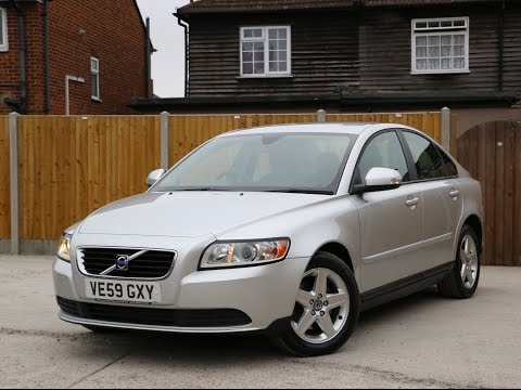 VOLVO S40 2.0D Turbo Diesel S Geartronic 6 Speed Auto VE59GXY