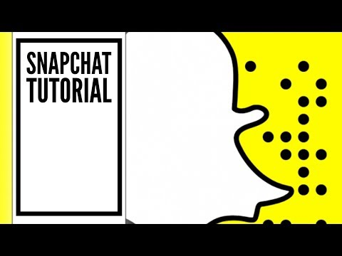 How does SNAPCHAT Work Tutorial for Beginners