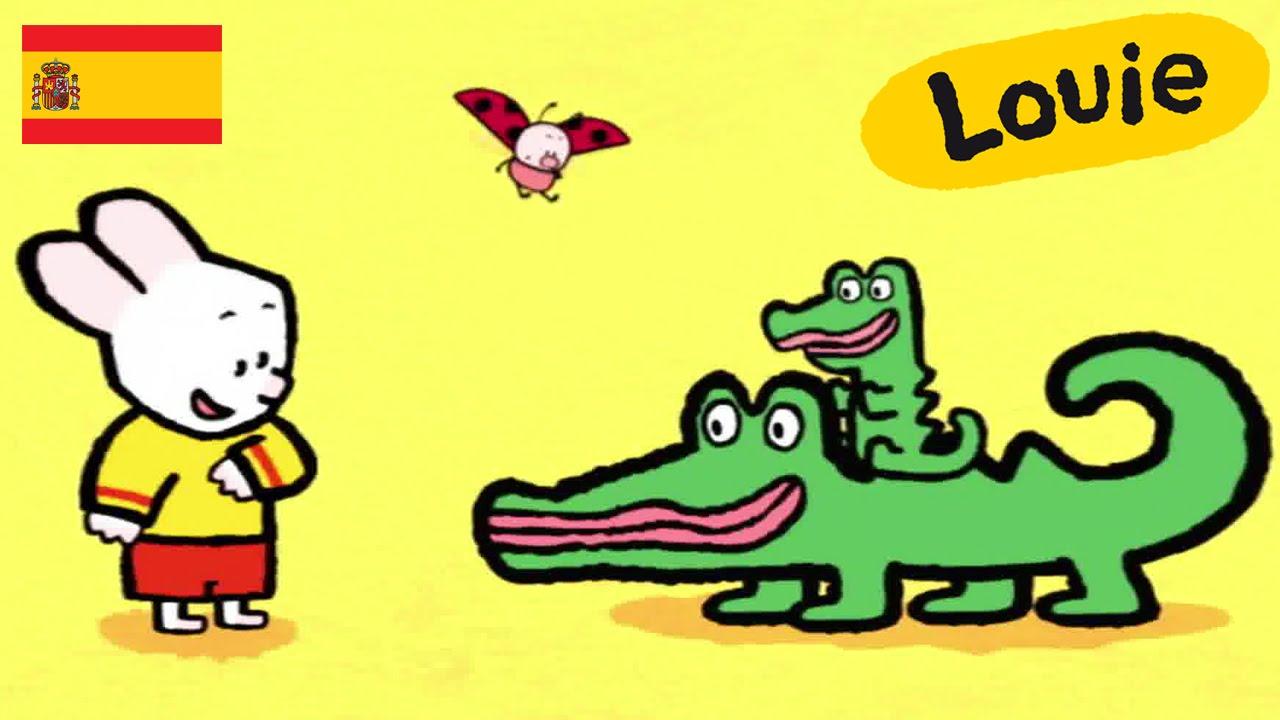 Cocodrilo Louie Dibujame Un Cocodrilo Dibujos Animados Para