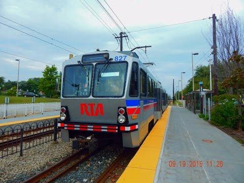 Cleveland RTA: BLUE '&' GREEN Lines (Light Rail) To Van Aken '&' To Green Road... FULL RIDE!