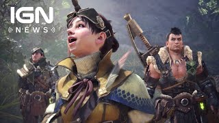 Monster Hunter World's Day One Patch Adds Poogies, Gallery Mode and Online Play - IGN News
