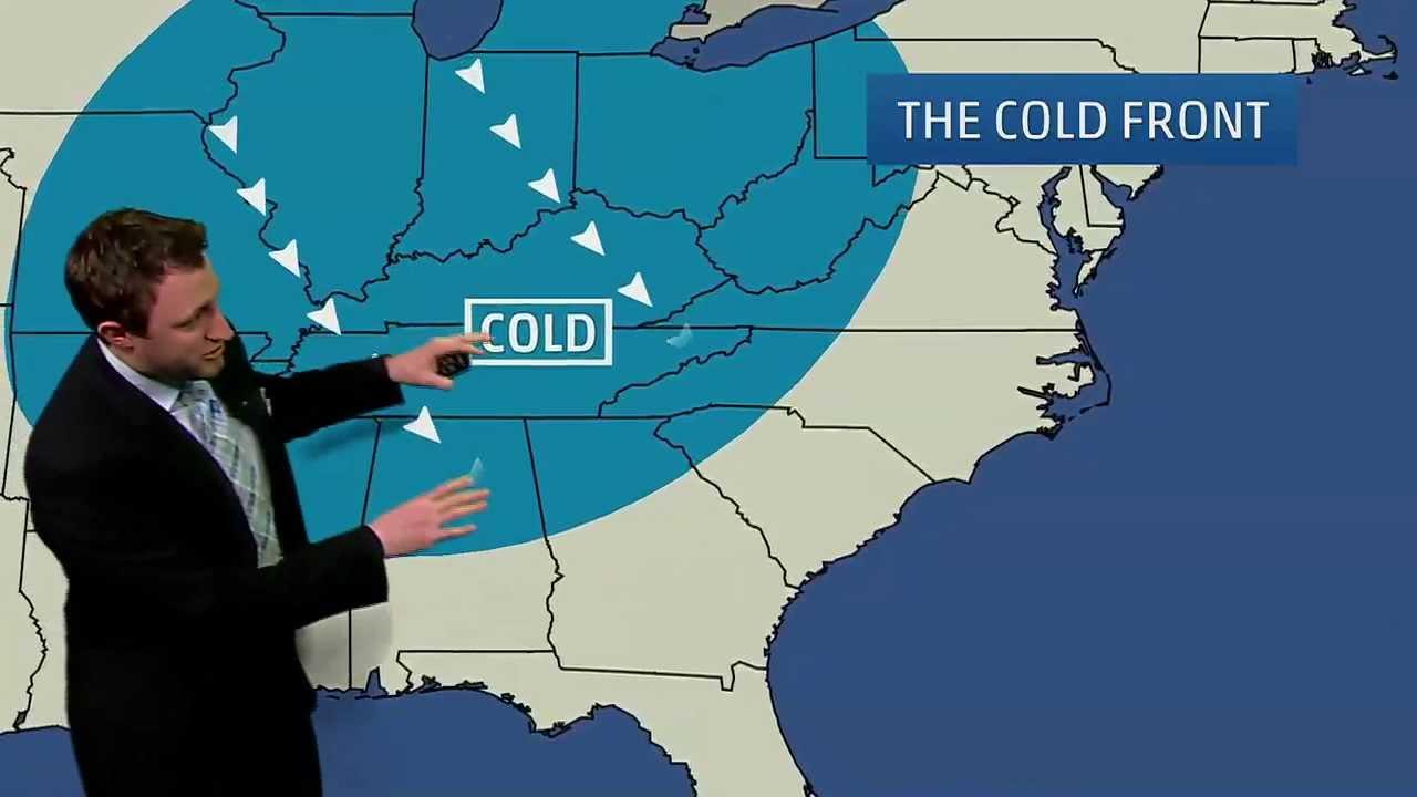 medium resolution of Meteorologist Ryan Davidson Explains Weather Maps - YouTube