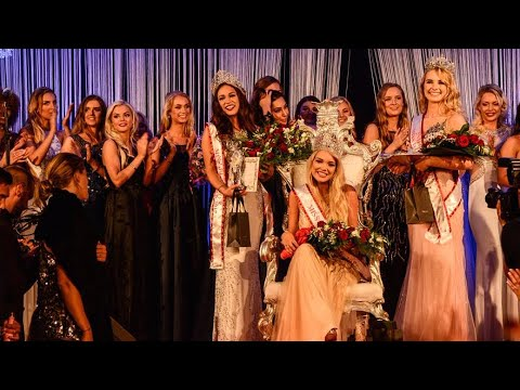 Amanda Petri crowned Miss Danmark 2017 - YouTube