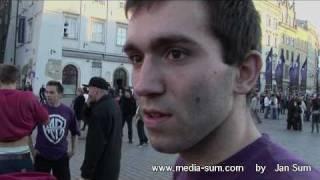 Misjonarze Rytmu feat. Cetowy - show na rynku w Krakowie