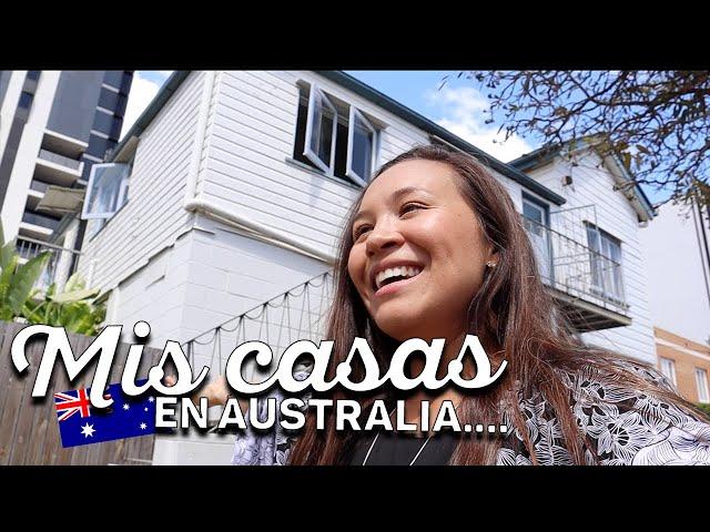 TODAS MIS CASAS EN AUSTRALIA !!! 🇦🇺 10 CASAS, 7 AÑOS  (Parte 2)