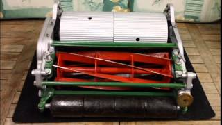 Ransomes Astral vintage cylinder push mower