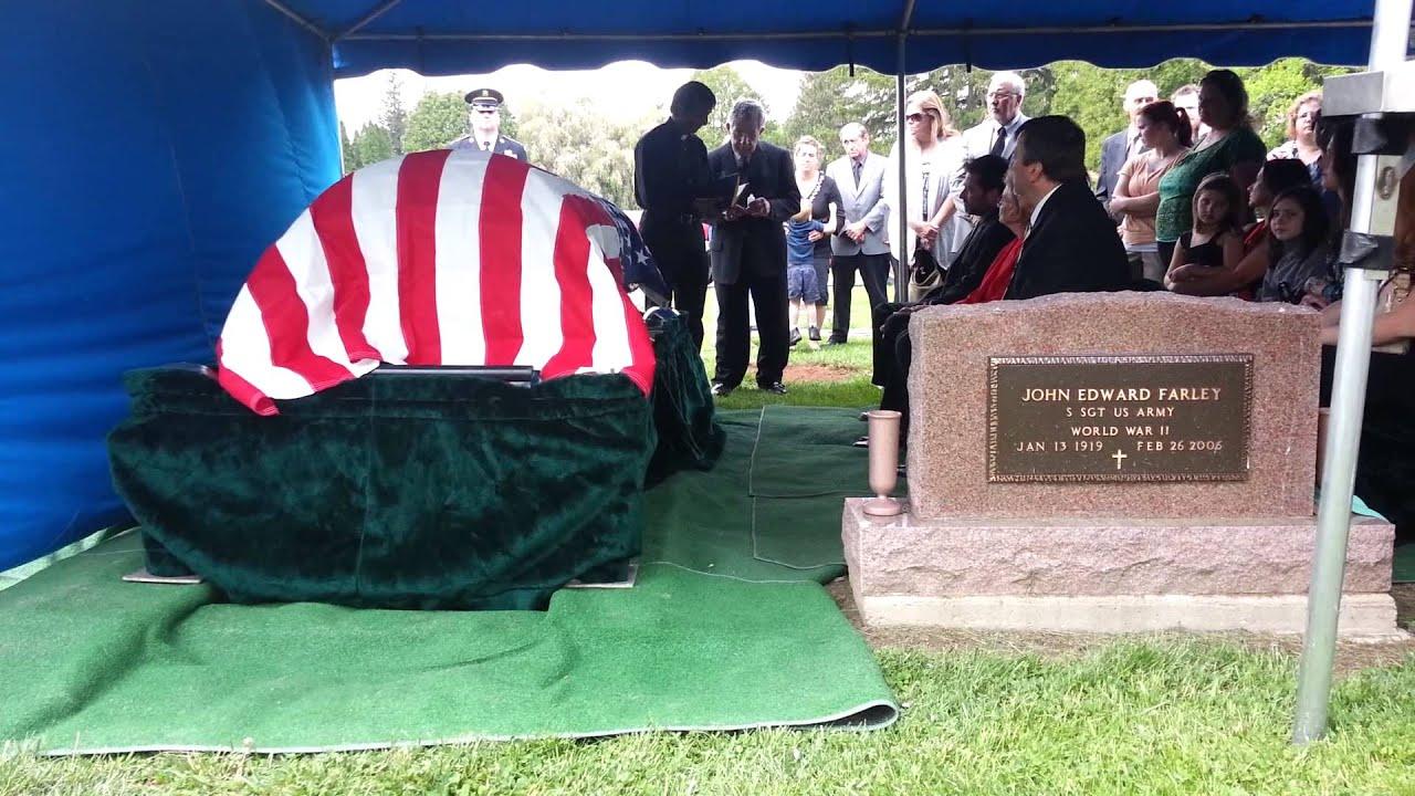 RIP F. Joseph Cory (1933-2013) Funeral part 1 - YouTube