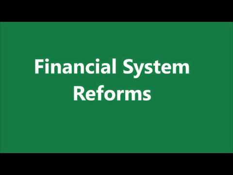 China - Financial System Reforms