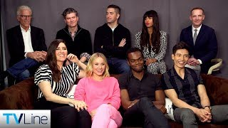 'The Good Place' Cast Interview   Comic-Con 2019   TVLine
