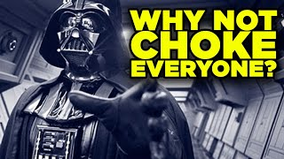 Should Jedi Force Choke EVERYONE? | The Big Question