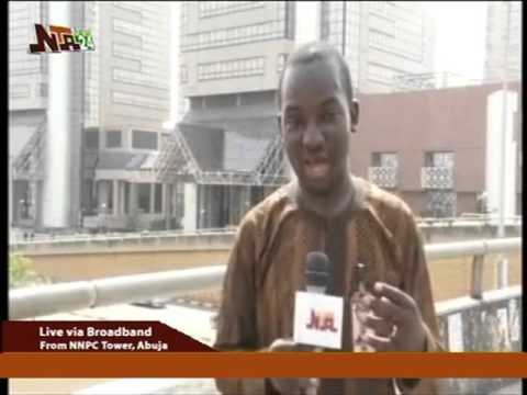 Nigeria Nation Petroleum Corporation Unions Protest