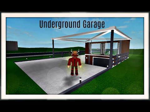 Bloxburg Speedbuild Underground Garage Roblox Youtube