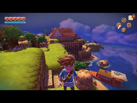Oceanhorn 100% Walkthrough Part 7 - Sky Island