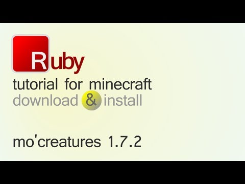 MO'CREATURES MOD 1.7.2 minecraft - how to download and install (with forge)