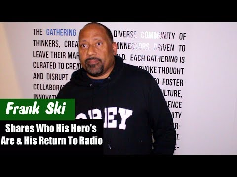 Frank Ski Talks On His Return To V-103 & How He Wants To Be Remembered