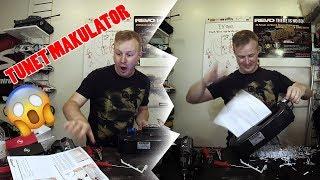 Worlds fastest shredder - GDPR Compliant!
