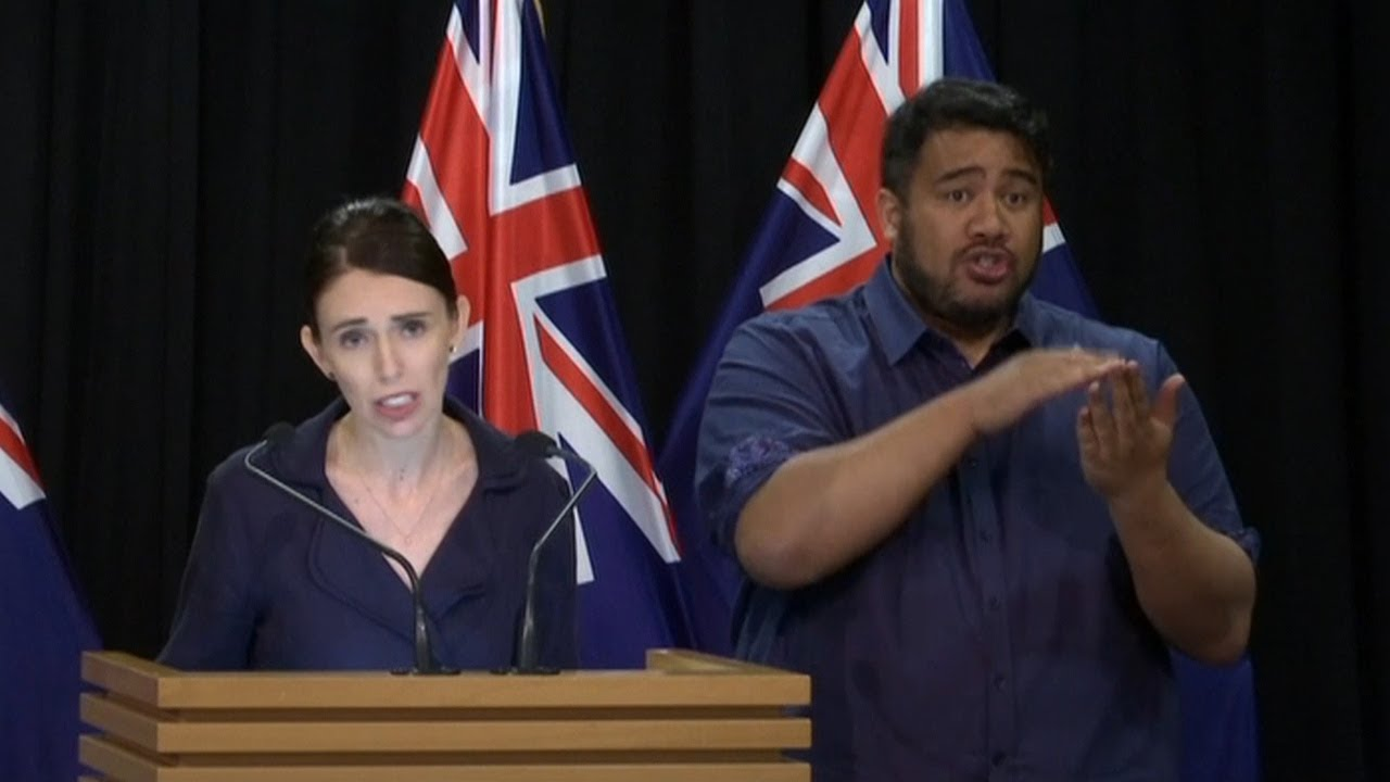 New Zealand PM: Had received a manifesto nine minutes before the attack