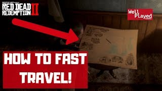 HOW TO FAST TRAVEL RED DEAD REDEMPTION 2