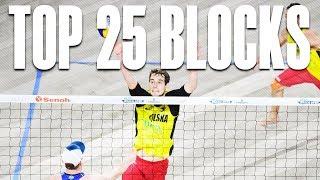TOP 25 Blocks • The Hague 4 Star 2018 • Beach Volleyball World