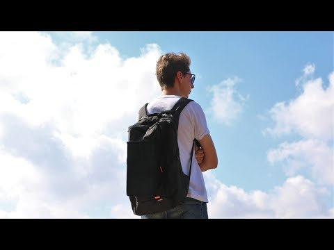 Гаджет на случай апокалипсиса - Рюкзак с солнечной батареей