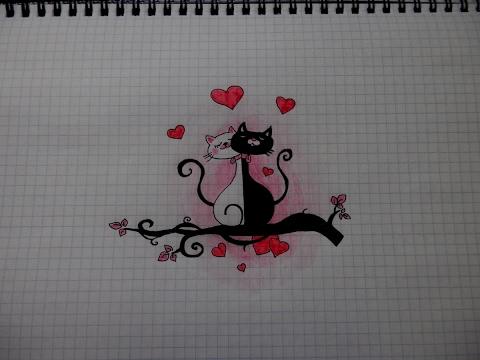 Как рисовать котёнка 20 пошаговых схем с объяснениями