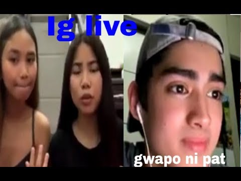 Patrick Ig Live With Lie And Yen!!