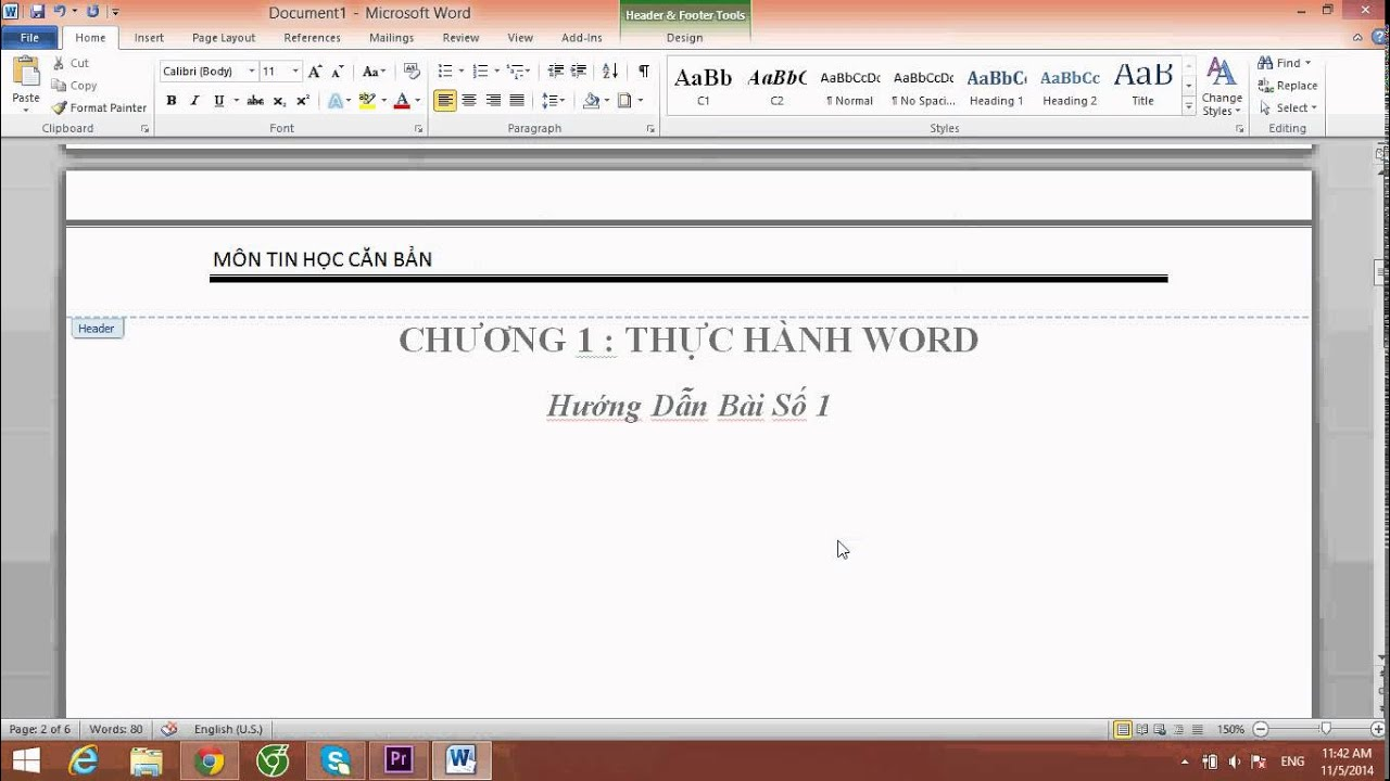 Cách Tạo Mục Lục Tự Động , Header , Footer , Tạo Bìa cho Trang