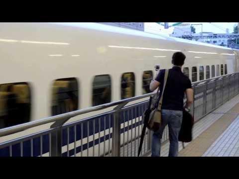 Viaje en Shinkansen (Tren Bala) Odawara - Tokyo