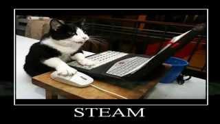 Как легко получить все карточки игр steam(Программа Idle Master предназначена для получения коллекционных карточек steam. Ссылка на программу-https://github.com/jshack..., 2014-08-13T14:05:09.000Z)