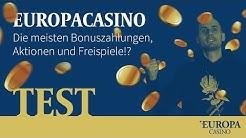 Europa Casino  - Starburst und Co im Test - Wie gut ist das Online Casino?