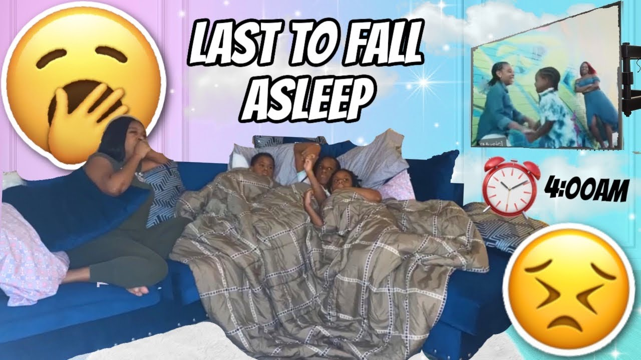 Last to Fall Asleep Challenge